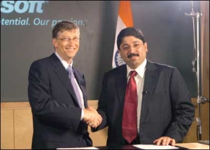 Bill Gates in India