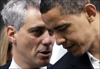 president Obama and White House chief of staff Emanuel