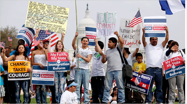 Nearly 12 million illegal immigrants in the US